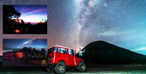 Mount Bromo Milky Way Photography