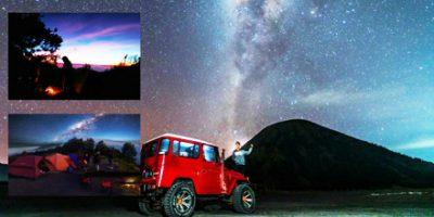 Mount Bromo Milky Way Photography