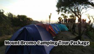 Mount Bromo Camping Tour Package