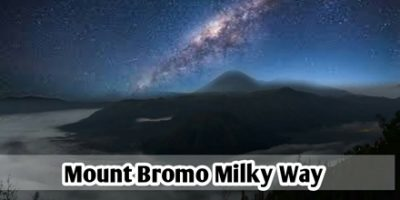 Mount Bromo Milky Way
