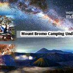 Mount Bromo Camping Under Milky Way