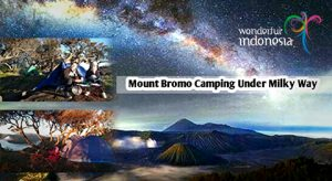Mount Bromo Camping Under Milky Way