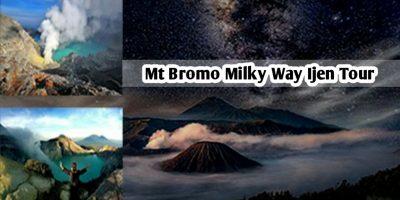 Mt Bromo Milky Way Ijen Tour