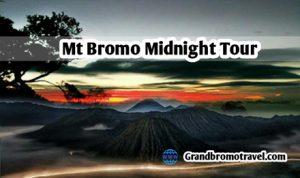 Mt Bromo Midnight Tour