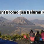 Mount Bromo Ijen Baluran