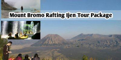 Mount Bromo Rafting Ijen Tour Package